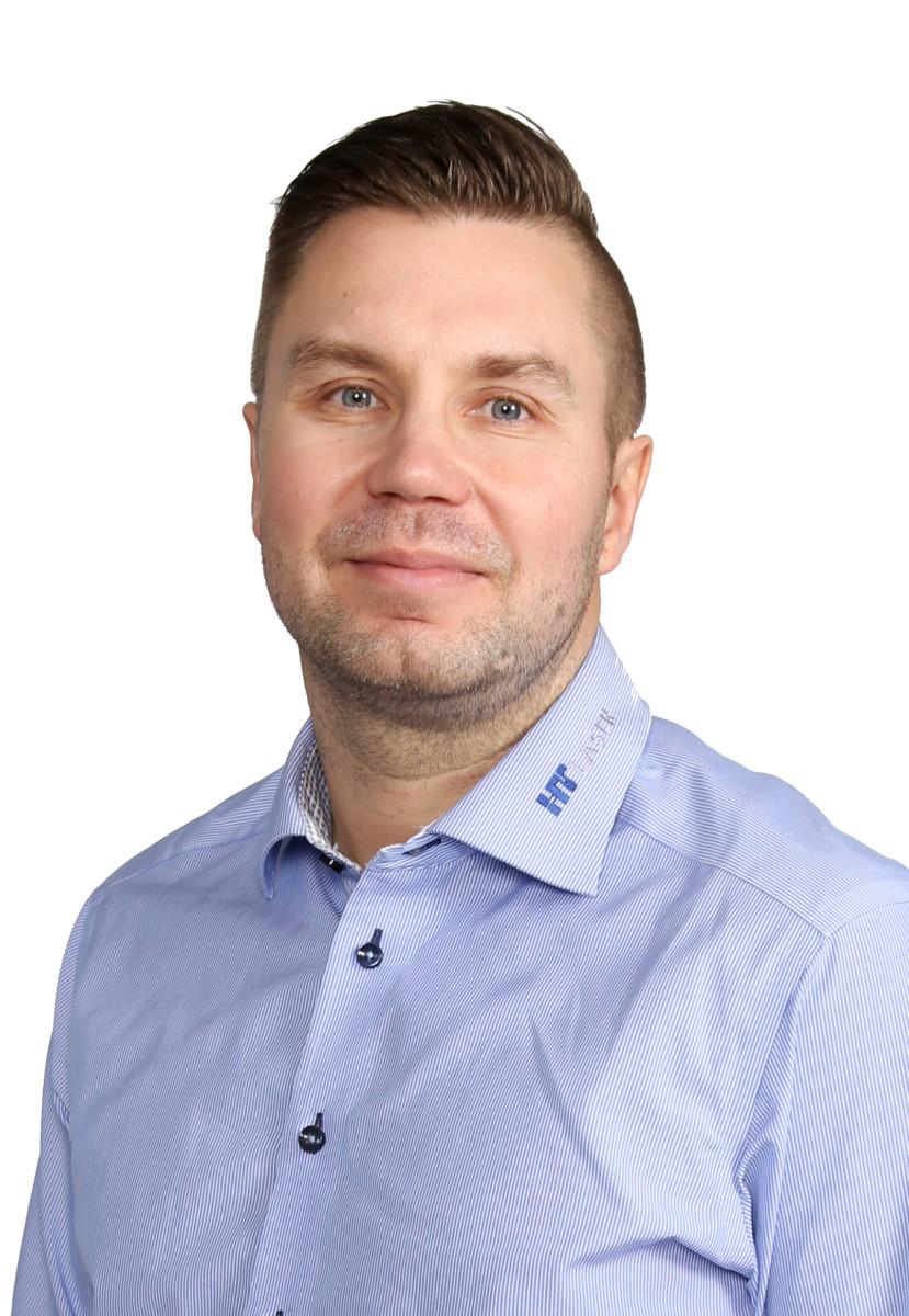 Markus Lehti, HT Laserin ja Elekmerkin toimitusjohtaja
