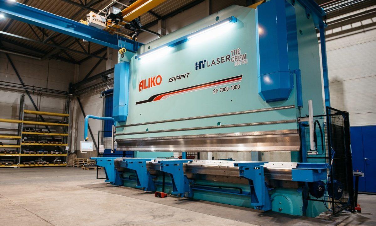 HT Laserin särmäyspuristin Aliko Giant SP7000-1000